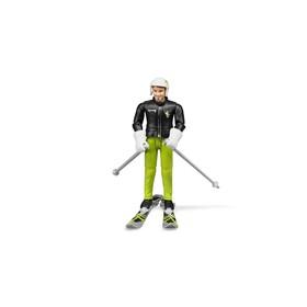 Фигурка «Лыжник» с аксессуарами