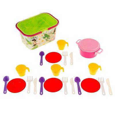 Набор посуды «Чудо-детки» на 4 персоны