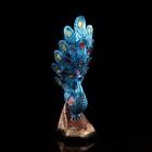 """Статуэтка """"Павлин"""", синий, 36 см, микс - Фото 7"""