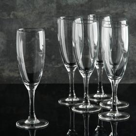 Набор фужеров для шампанского Luminarc «Французский ресторанчик», 170 мл, высота 18,5 см, 6 шт