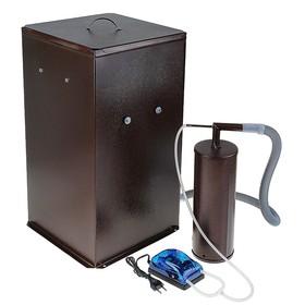 Коптильня холодного копчения 'Дым Дымыч' 01Б, дымогенератор, 50 л, коричневая Ош