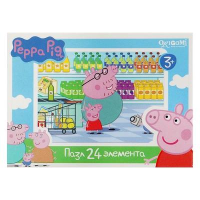 Пазл «Свинка Пеппа», 24 элемента, МИКС