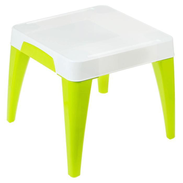 """Детский стол """"Я расту"""", цвет салатовый"""