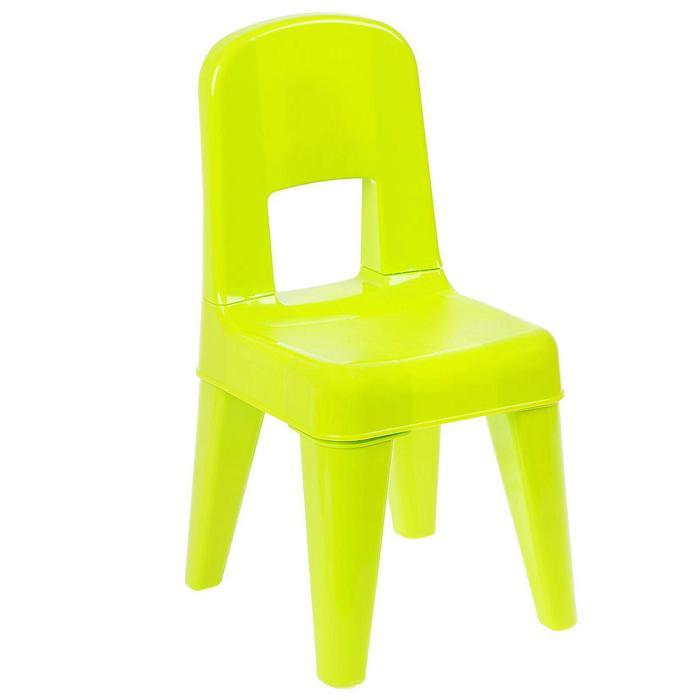 """Детский стул """"Я расту"""", цвет салатовый"""