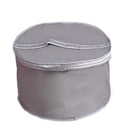 Тубус для головных уборов 33×33×20 см, цвет серый Ош