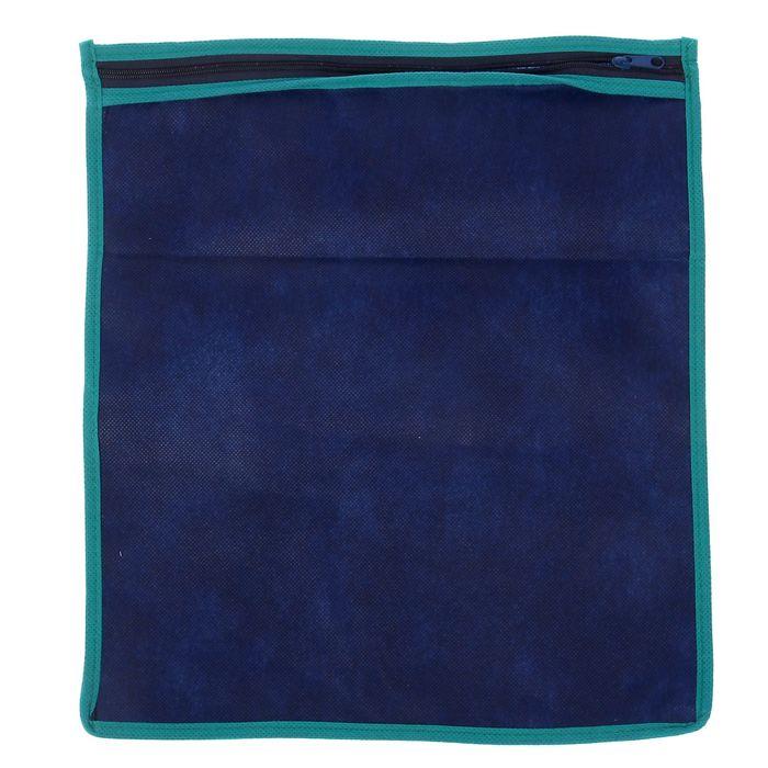Чехол для обуви 3035 см, цвет синий