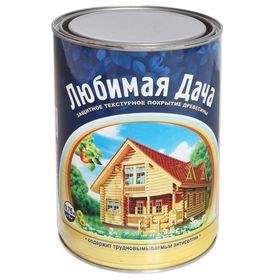 Защитное текстурное покрытие древесины, сосна, 0,75 л Ош