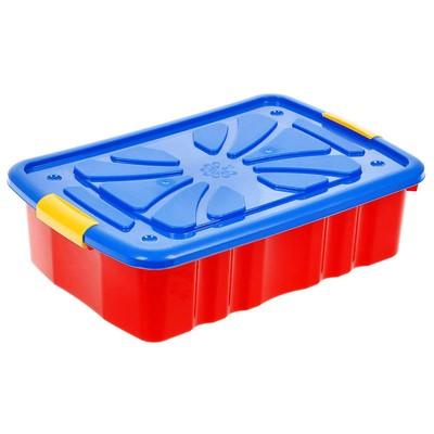Ящик для игрушек, цвета МИКС - Фото 1