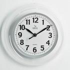 """Часы настенные круглые """"Классика. Мария"""", прозрачные"""