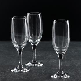 Набор фужеров для шампанского Bistro, 190 мл, 3 шт