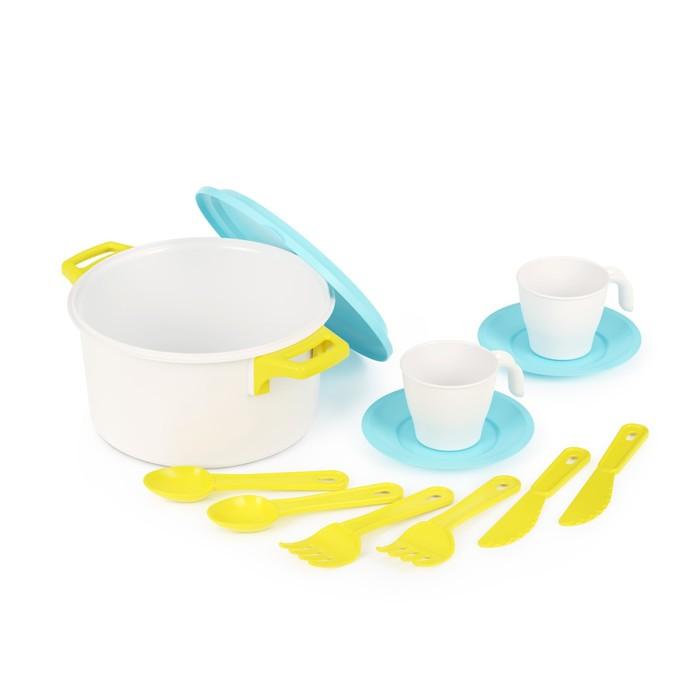 Набор посуды для кукол, Хозяйка на 2 персоны