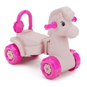 Толокар «Лошадка», розовый Ош