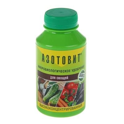 Удобрение Азотовит для овощей, концентрированное, бутылка ПЭТ, 0,22 л - Фото 1