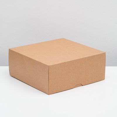 Упаковка для продуктов, 25,5 х 25,5 х 10,5 см, 6 л - Фото 1