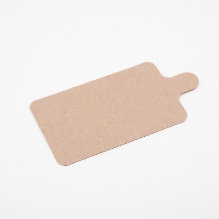 Подложка с держателем 9 х 5,5 см, 0,8 мм