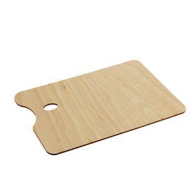 Палитра деревянная, прямоугольная, № 5, 20 х 30 см Ош