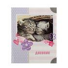 Дневник для 1-4 классов «Кошечки», твёрдая обложка, глянцевая ламинация, 48 листов