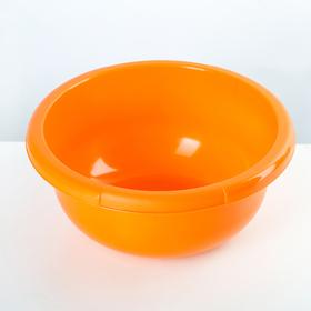Таз круглый Полимербыт, 2,5 л, цвет МИКС Ош