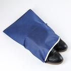 Чехол для обуви 38?26 см, спанбонд, цвет МИКС