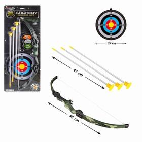 Лук «Меткий стрелок», с мишенью и стрелами на присосках Ош