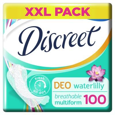 Ежедневные прокладки Discreet Deo Water Lily Multiform, 100 шт. - Фото 1