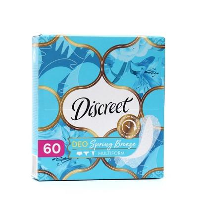 Ежедневные прокладки Discreet Deo Spring Breeze Multiform, 60 шт. - Фото 1