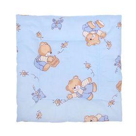 Подушка для мальчика, размер 40х40 см, цвет МИКС Ош