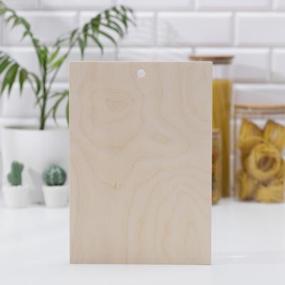 Доска разделочная Доляна, берёза, 21×30×0,8 см