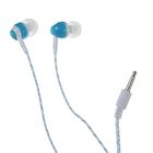 Наушники проводные Human Friends Lumen, вакуумные, микрофон, 32 Ом, 1.2 м, синие