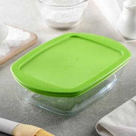 Форма для запекания прямоугольная 1,1 л с крышкой 23x15x6,5 см Pyrex Cook&Store