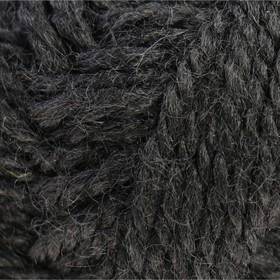 """Пряжа """"Бамбино"""" 35% шерсть меринос, 65% акрил 150м/50гр (003 черный)"""