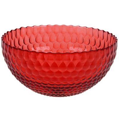 Салатник «Роса», 1,5 л, d=21 см, цвет рубиновый
