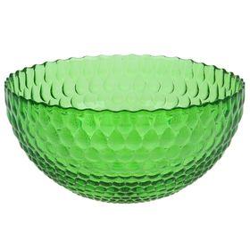 """Салатник 1,5 л """"Роса"""", 21 см, цвет зелёный"""
