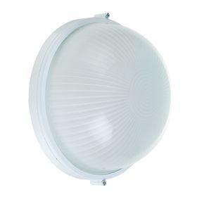Светильник TDM НПБ1101, Е27, 100 Вт, IP54, круглый, белый Ош