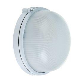 Светильник TDM НПБ1301, Е27, 60 Вт, IP54, круглый, белый Ош