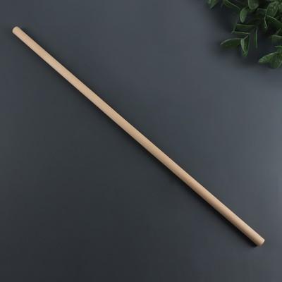 Массажёр «Палка гимнастическая», деревянный