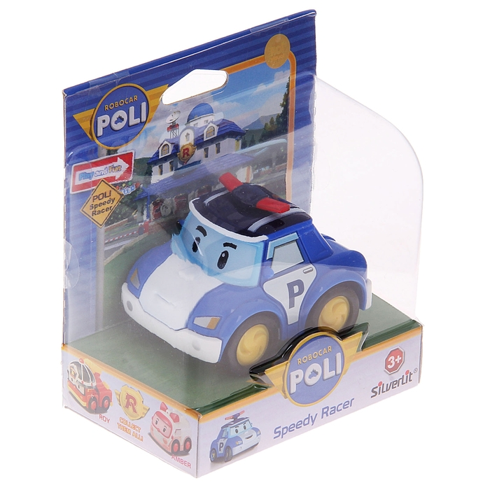 Машина инерционная «Поли»