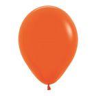 """Шар латексный 12"""", пастель, набор 12 шт., цвет оранжевый 061"""