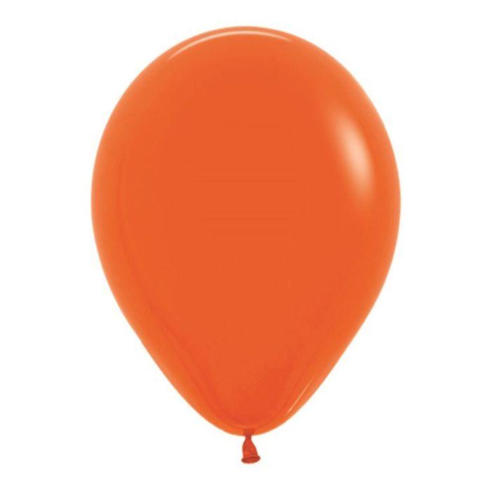 Шар латексный 5, водные бомбочки, пастель, набор 100 шт., цвет оранжевый 061