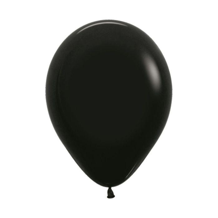 Шар латексный 5, водные бомбочки, пастель, набор 100 шт., цвет чёрный 080