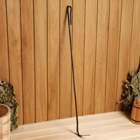 Кочерга металлическая золотистая, длина 90 см Ош