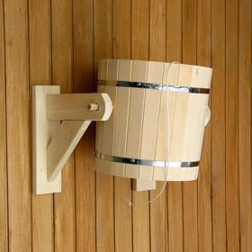Обливное устройство из липы, 20л, нержавеющая вставка, 'Добропаровъ' Ош