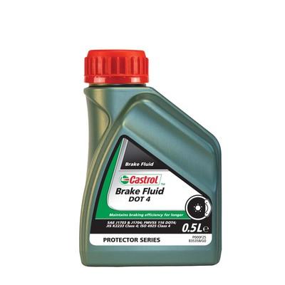 Тормозная жидкость Castrol Brake Fluid DOT 4, 500 мл