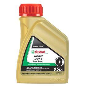 Тормозная жидкость Castrol React DOT 4 Low Temp, 500 мл