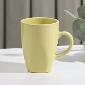 Кружка Доляна «Пастель», 280 мл, цвет жёлтый