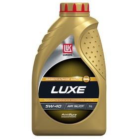Моторное масло Лукойл Люкс 5W-40, п/синт, 1 л 19189