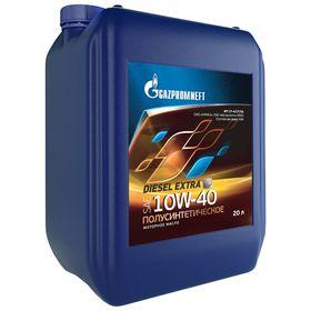 Масло моторное Gazpromneft Diesel Extra 10W-40, 20 л