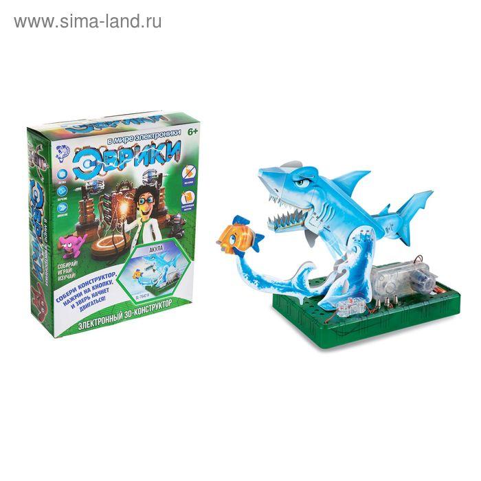 Электронный 3D-конструктор «Акула»