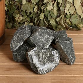 Камень для бани 'Дунит', коробка 20 кг Ош