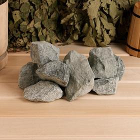 Камень для бани 'Габбро-диабаз', коробка 20кг Ош